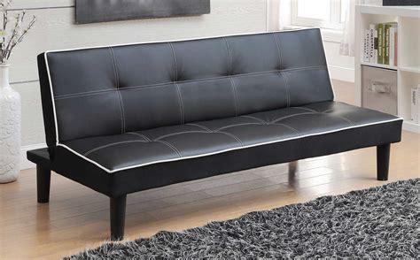 coaster company black sofa bed coaster 550044 sofa bed black 550044 at homelement com