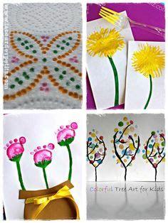 Deco De Printemps A Faire Soi Meme 550 by F 234 Te Des M 232 Res Peinture De Fleur Avec Empreintes Mains