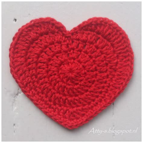 crochet hearts atty s crochet coaster pattern cq