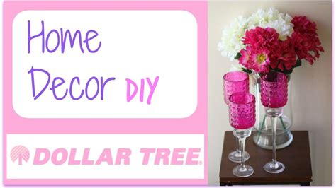 home decor youtube dollar tree diy 6 dollar tree diy home decor candlestick holder youtube