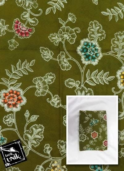 Kain Batik Nusantara Kain Batik Semi Tulis Colet Motif Etnik Nusantara Kain
