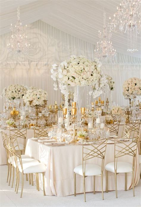 white and gold decor an oceanfront vintage inspired wedding in laguna