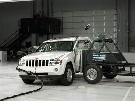 Jeep Grand Crash Test 2007 Jeep Grand Side Iihs Crash Test