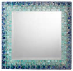 how to frame a bathroom mirror with mosaic tiles classic collection mosaic mirrors contemporary