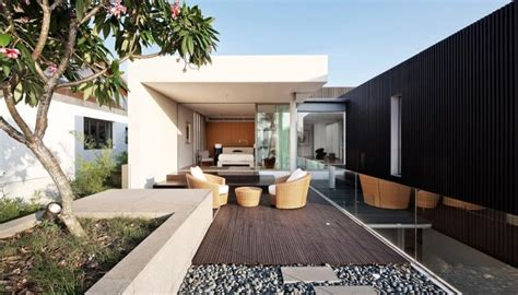 glass box house impressive glass box house by beige design designrulz