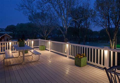 deck post lights solar 21 decking lighting ideas an important part of homes