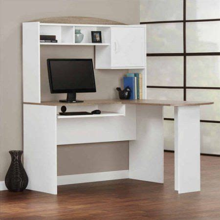 mainstays l shaped desk with hutch finishes 25 best ideas about desk hutch on white desks