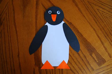 Paper Penguin Craft - tacky the penguin craft she s crafty