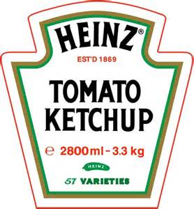 heinz tomato ketchup free vector in encapsulated