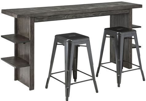 gray counter height table lamoille gray counter height dining table from