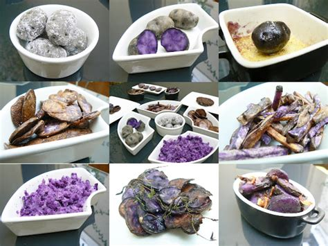 cuisiner des pommes de terre comment cuisiner la pomme de terre violette 171 vitelotte