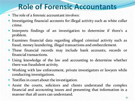 Accounting Responsibilities by Evolution Of Forensic Accounting And Its In Nigeria Economy