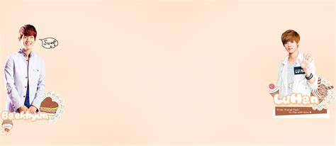 exo wallpaper twitter exo baekhyun and luhan twitter background by