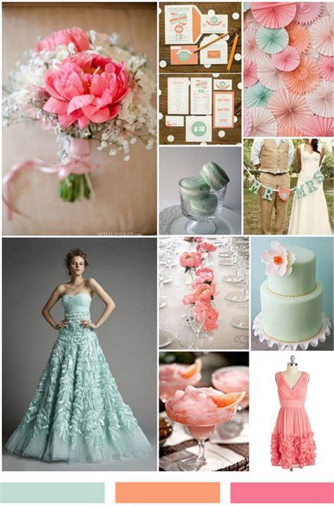 mint green coral wedding mint wedding ideas and wedding invitations
