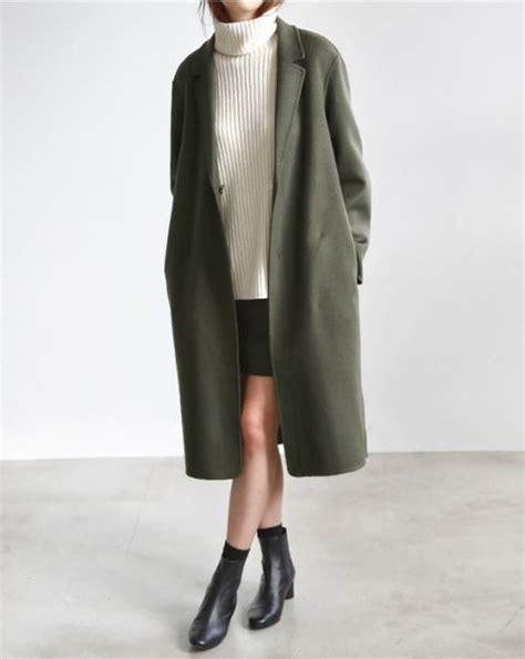 Mini Dress Sweater Chic Like Midi Korean Style 21 charming olive green coat ideas for this fall styleoholic