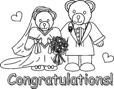 coloring pages for wedding anniversary wedding coloring pages 7