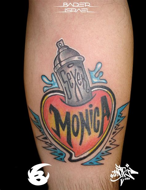 Graffiti Tattoo Nyc   nyc graffiti tattoo style by badder israel