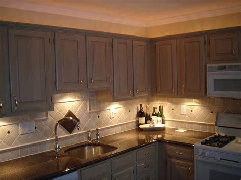 the kitchen cabinet lighting the sink lighting ideas homesfeed