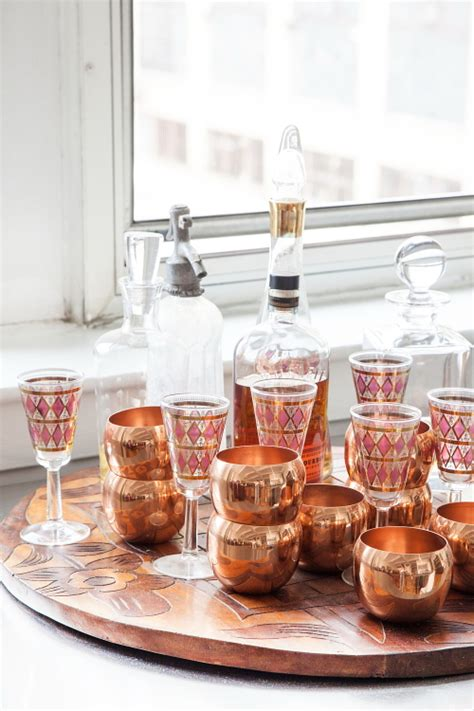 copper barware an eclectic philadelphia loft design sponge