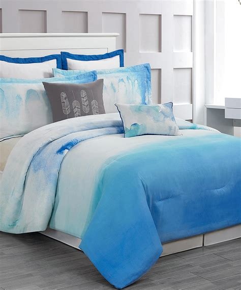 duck river textile comforter set duck river textile cloudy teal skye hotel eight piece