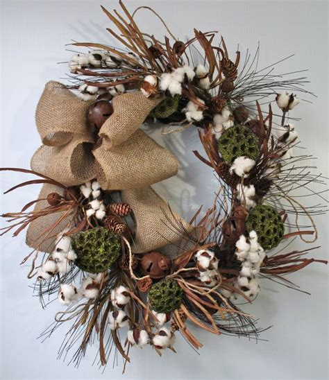 indoor wreaths home decorating 12 best cotton images on pinterest christmas wreaths