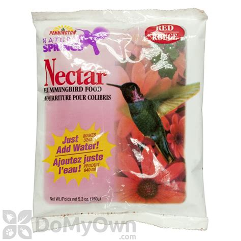 pennington natural springs nectar powdered hummingbird
