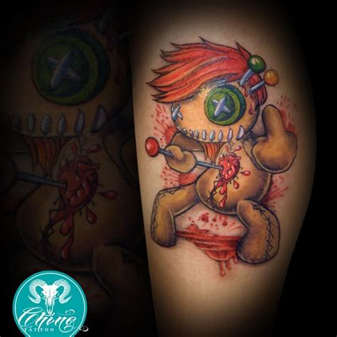 pin up doll tattoo designs voodoo doll pin up tattoos pictures to pin on