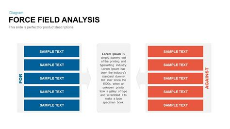 field analysis diagram template field analysis powerpoint and keynote template