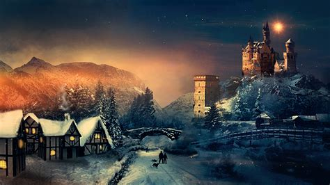 christmas winter wallpapers hd wallpapers id
