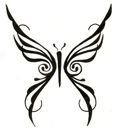 butterfly tattoo to draw items similar to tribal butterfly custom tattoo drawing on