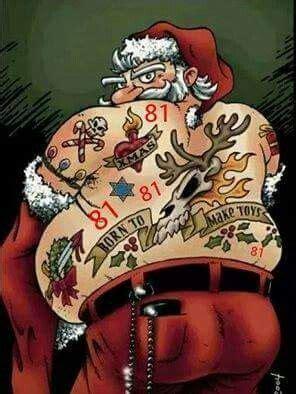 tattoo weihnachtsmann weihnachten pinterest