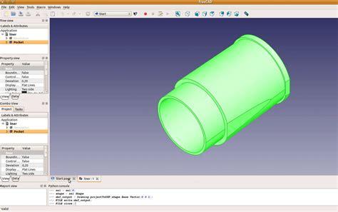 tutorial video freecad tutorial engine 8 liner blueprint freecad