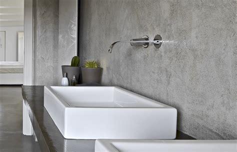 Beton Cire Verf by Betonlook In De Badkamer Materialen Eigenschappen