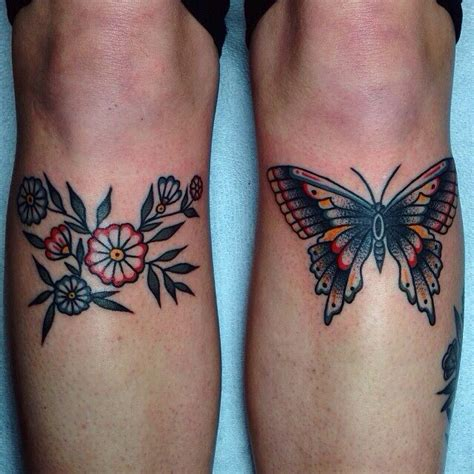 above knee tattoo 25 best ideas about traditional butterfly on