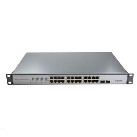 gigabit switch 24 port switch gigabit 24 ports 440w 24 ports poe gigabit 2 slots