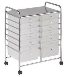 8 drawer ombre rolling cart 8 drawer ombre rolling cart by recollections pink h