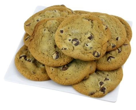 chocolate chip cookies with ghirardelli chocolate chip