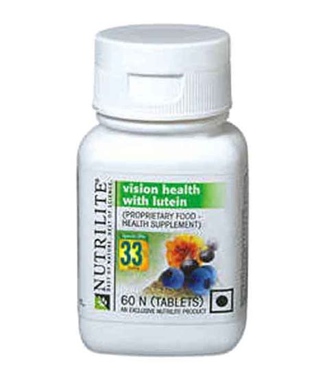 Suplemen Amway Amway Nutrilite Vision Health With Lutein 60n Tablets