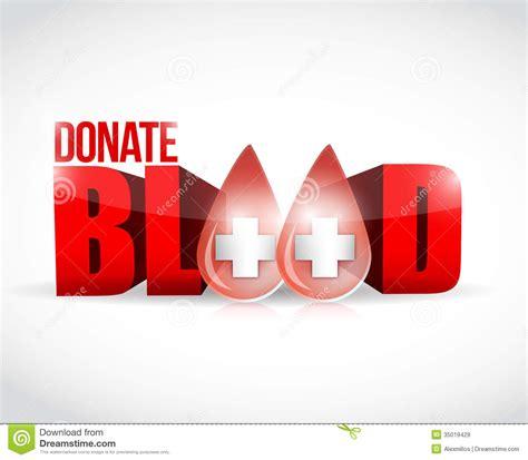 Design House Online Free No Download donate blood illustration design royalty free stock images