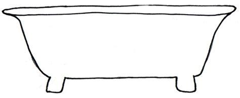 how to draw bathtub bilingual programs clipart tslac