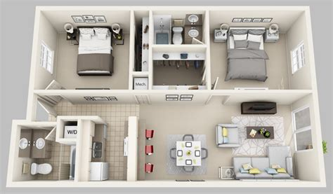 Townhouse Plans Designs by Floor Plans Oxford Manor Apartments