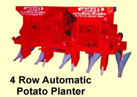 Automatic Potato Planter by 4 Row Automatic Potato Planter Droli Mechanical Works