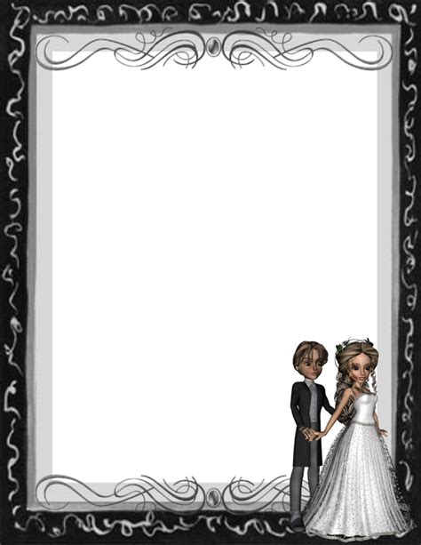 6 Best Images of Free Printable Wedding Stationery