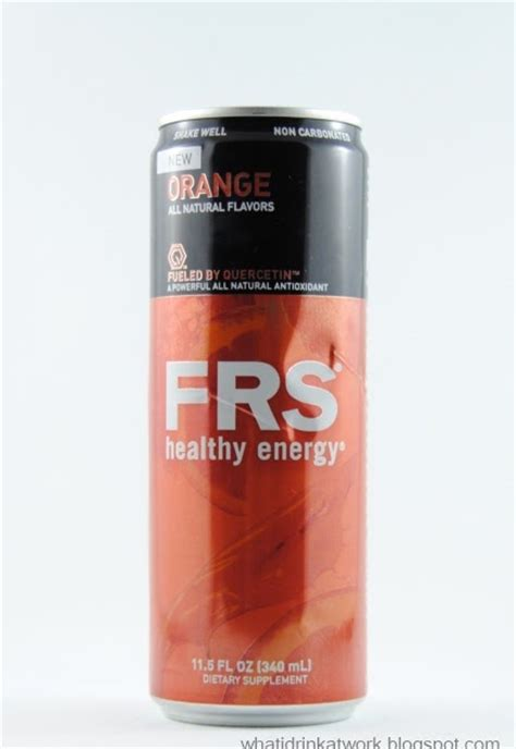 energy drink reviews what i drink at work frs orange energy drink review