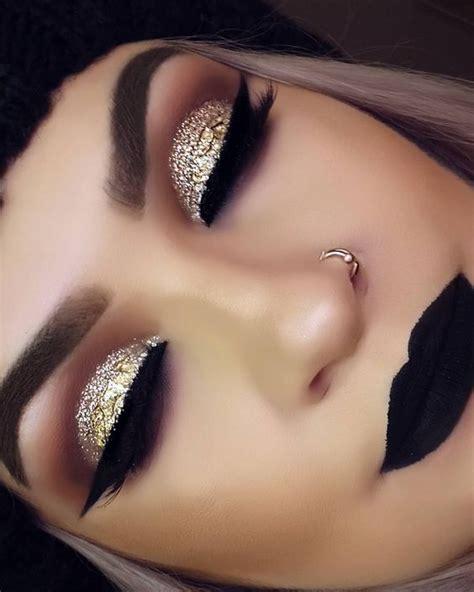 makeup paso a paso maquiagem dourada passo a passo