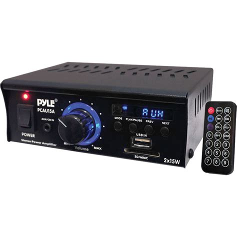Speaker Toa 15 Watt pyle pro pcau15a mini 2x15 watt stereo lifier pcau15a b h