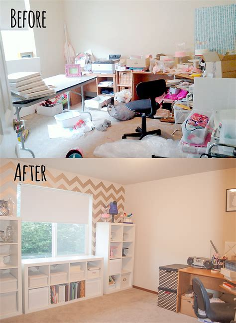 My Room Makeover | eek to chic craft room makeover itsy belleitsy belle