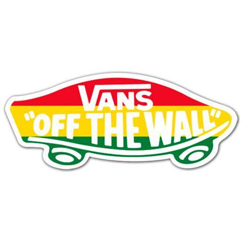 Vans Off The Wall Sticker sticker surf skate vans off the wall 4 muraldecal com