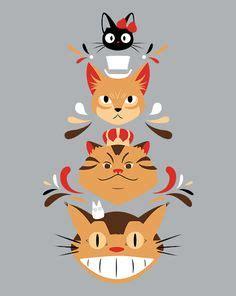 studio ghibli film with cats studio ghibli on pinterest totoro hayao miyazaki and