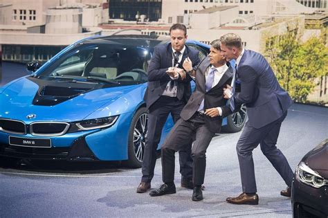 bmw ceo faint bmw chief executive harald kr 252 ger faints on stage at